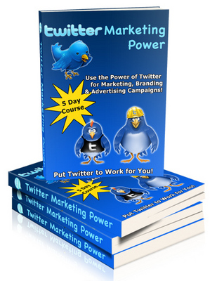 Product picture Twitter Marketing Power For Branding and Advertising PLR