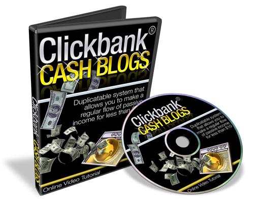 Product picture Blogging Cash System and ClickBank Cash Blog Video MRR