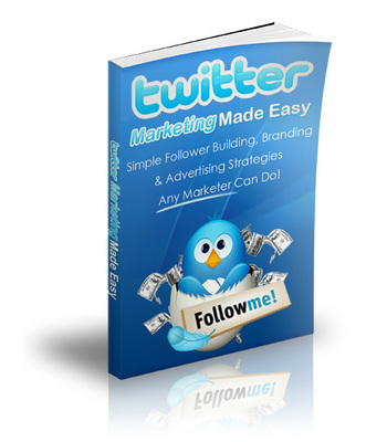 Product picture Twitter Marketing Made Easy Simple follower building PLR